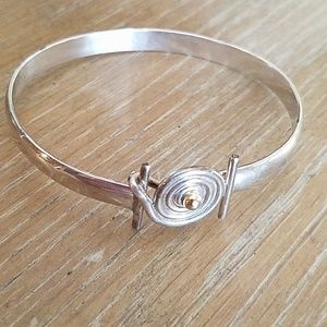 Sterling Hurricane Bracelet